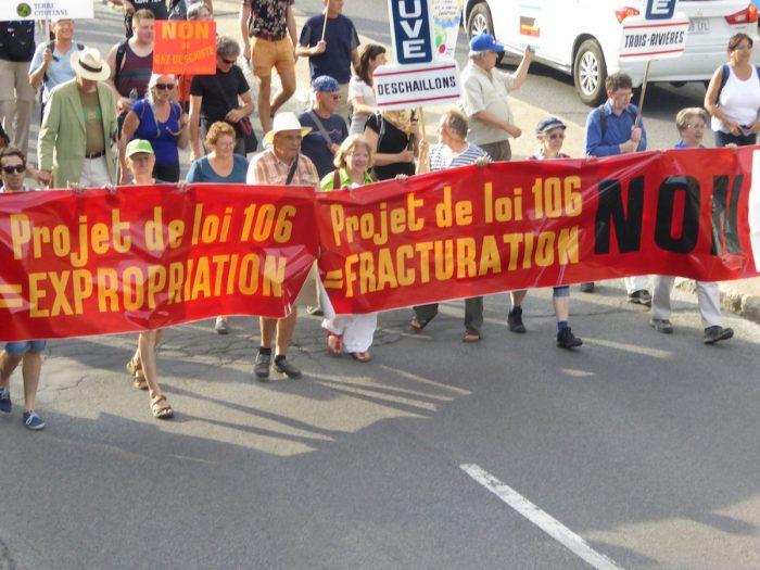 Montreal. manifestazione apertura FSM